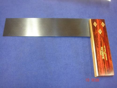 "Joseph Marples Rosewood Carpenters Try Square 235mm 9"" Brass Sheffield 19B"